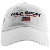 Product Image for Ralph Lauren Polo Sport Baseball Cap White